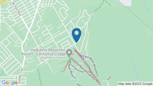 Tahoe Seasons Resort, a VRI resort Map