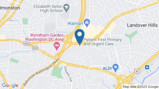 Holiday Inn Express Washington DC - BW Parkway, an IHG Hotel Map