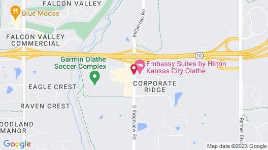 Embassy Suites Kansas City/Olathe Map
