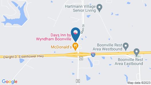 Days Inn by Wyndham Boonville Map