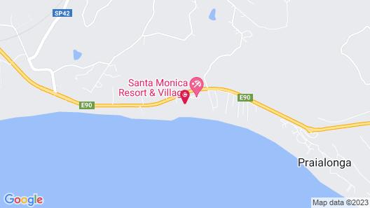 Santa Monica Resort & Village Map