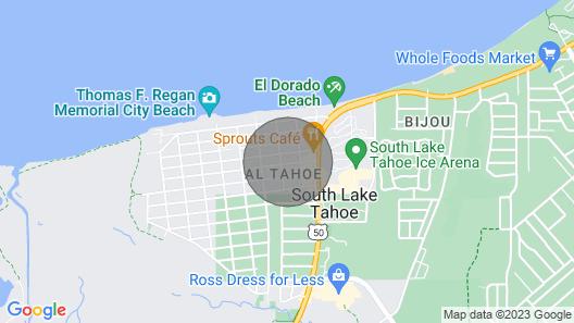 Near The Lake & Skiing Map
