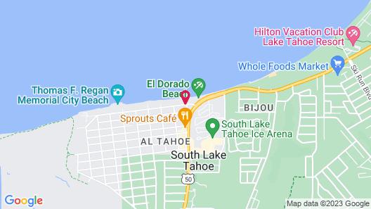 Beachcomber Inn Map