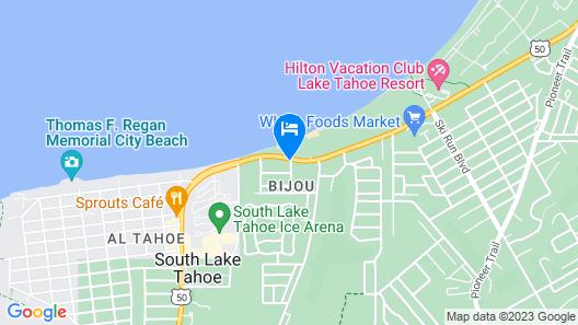 Beach Retreat & Lodge at Tahoe Map
