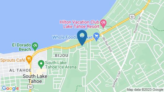 A&A Lake Tahoe Inn Map