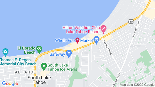 Tahoe Lakeshore Lodge & Spa Map