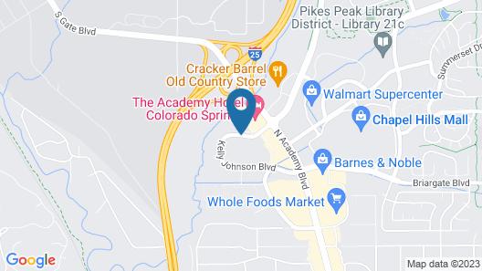 Baymont by Wyndham Colorado Springs Map