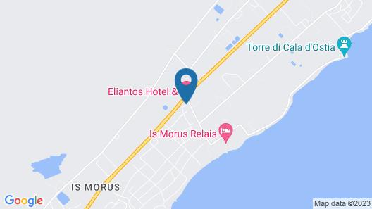 Eliantos Hotel Map