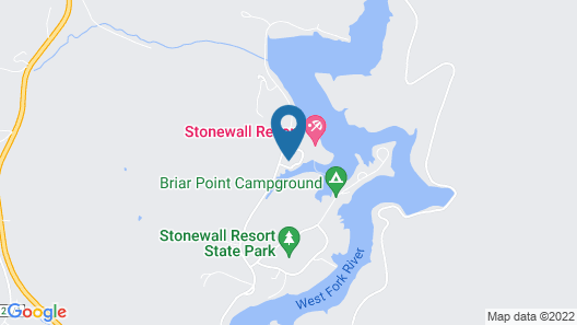 Stonewall Resort Map