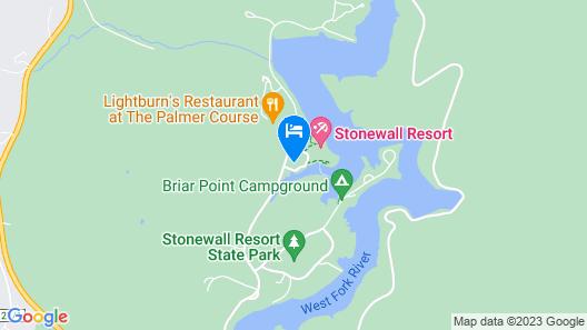 Stonewall Resort Map