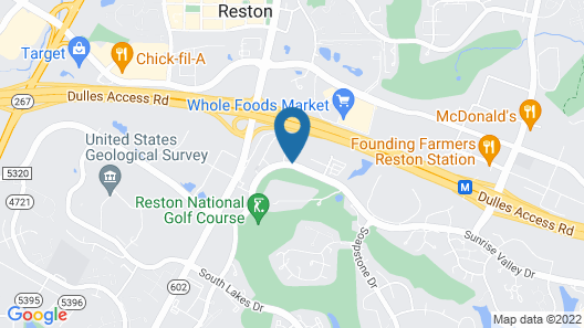 The Westin Reston Heights Map