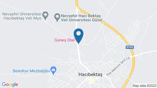 Gunes Otel Map