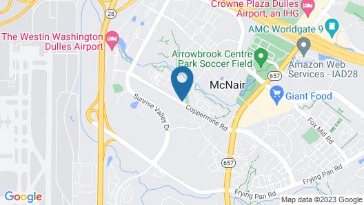 Sonesta ES Suites Dulles Airport Map