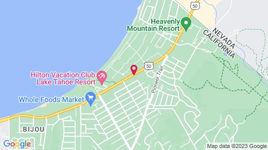 Pinewood Inn Map