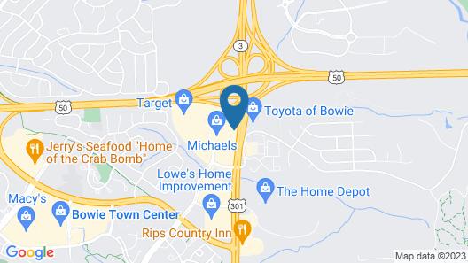 Comfort Inn Conference Center Map
