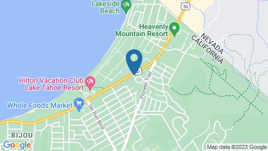 Econo Lodge Inn & Suites Heavenly Village Area Map