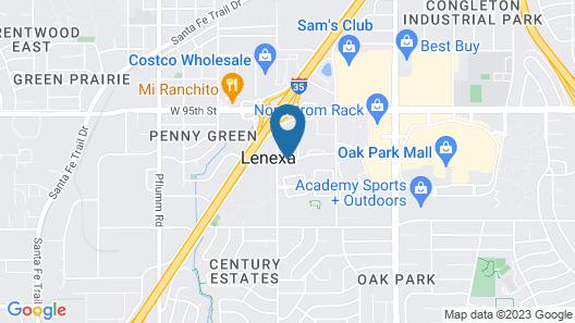 Quality Inn & Suites Lenexa Kansas City Map