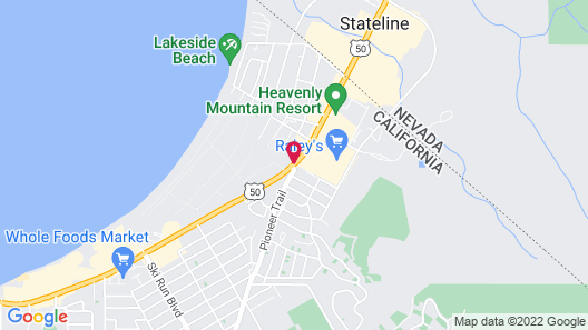 Holiday Inn Express South Lake Tahoe, an IHG Hotel Map