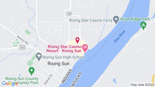 Rising Star Casino Resort Map