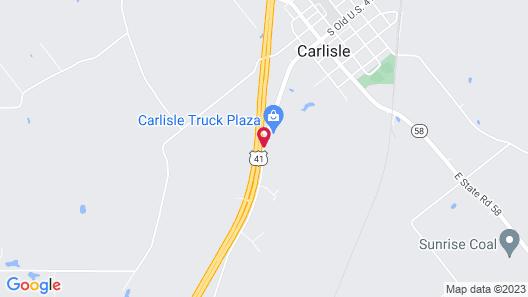 Carlisle Inn Map