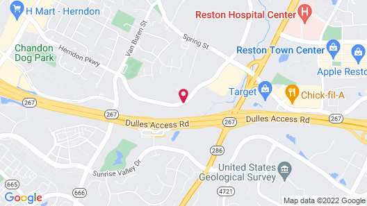 Courtyard by Marriott Dulles Airport Herndon/Reston Map