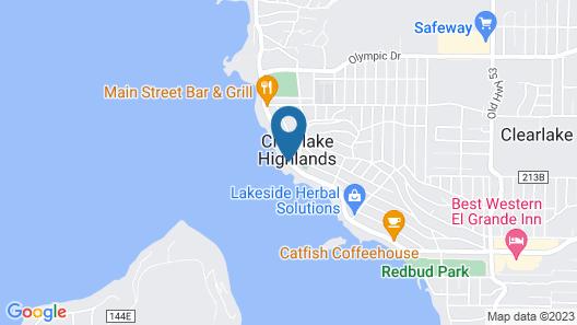 Lamplighter Motel Map
