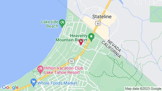 968 Park Hotel Map