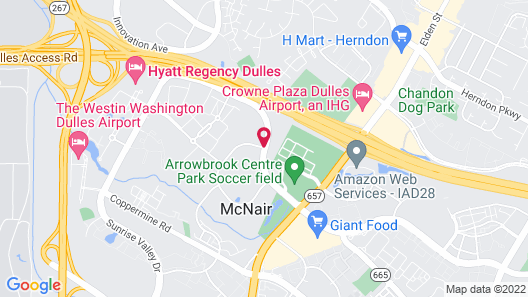 Homewood Suites by Hilton Dulles International Airport Map