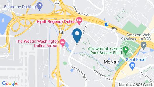 The Westin Washington Dulles Airport Map