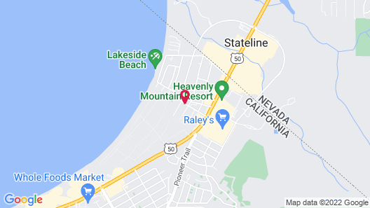 Secrets Inn Lake Tahoe Map