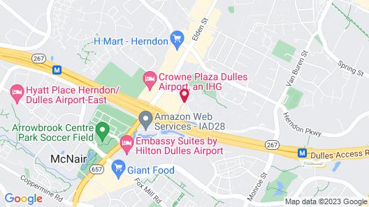 Washington Dulles Marriott Suites Map
