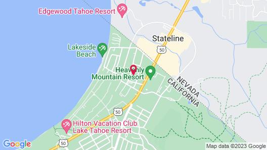 Bluelake Inn at Tahoe Map