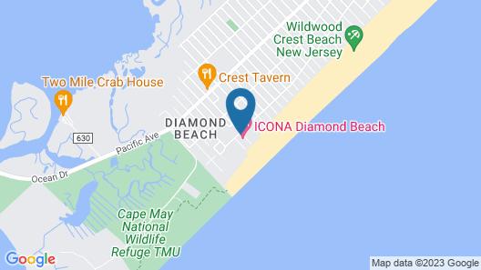 ICONA Diamond Beach Map