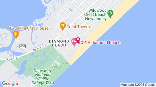Regal Plaza Beach Resort Map