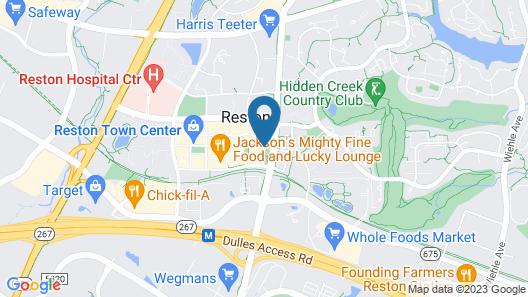Hyatt Regency Reston Map