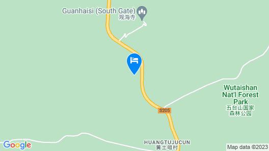 Yiyun Botique Inn Wutaishan Qingju Map