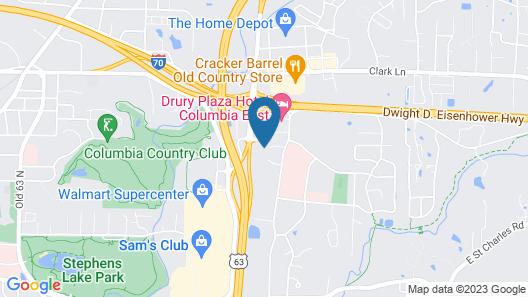 Staybridge Suites Columbia, an IHG Hotel Map