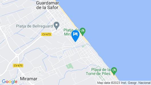 Hotel Playa Miramar Map