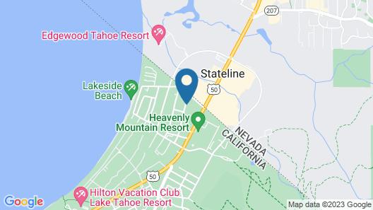 Basecamp South Lake Tahoe Map
