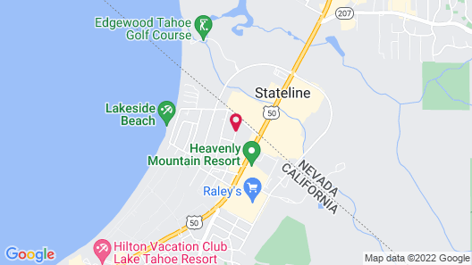 Blue Jay Lodge Map