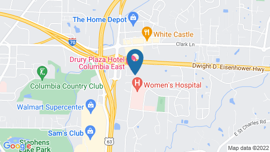 Country Inn & Suites by Radisson, Columbia, MO Map