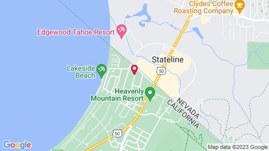 7 Seas Inn at Tahoe Map