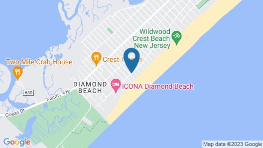 Beau Rivage Beach Resort Map