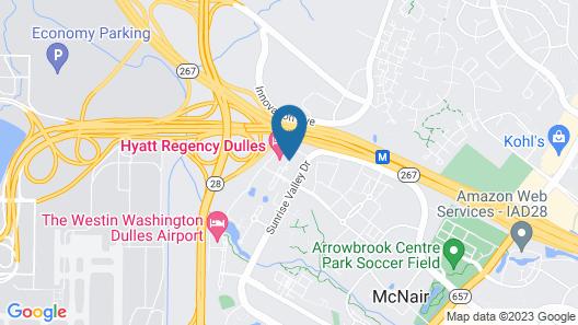 Hyatt Place Herndon Dulles Airport East Map