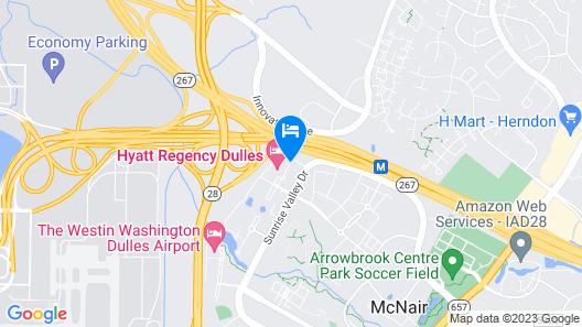 Hyatt Regency Dulles Map