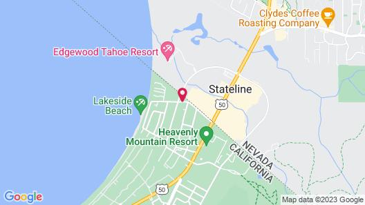 Cedar Inn & Suites Map