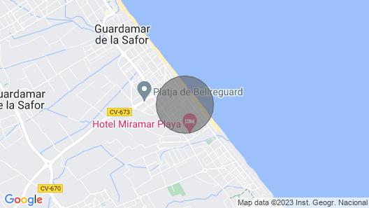 Pandora 3 - Apartment With Terrace in Playa de Miramar Map