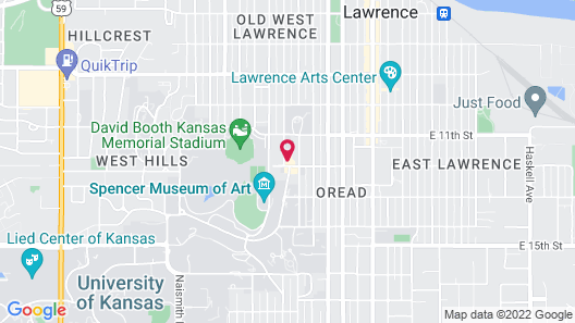 The Oread Map