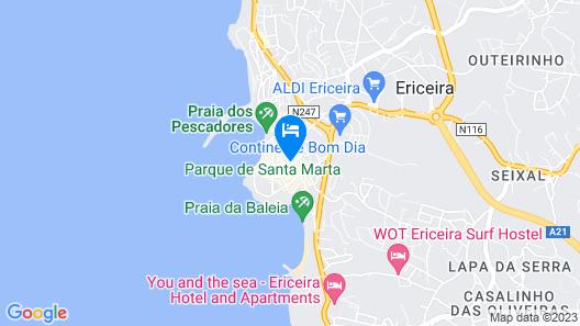 Reserva FLH Hotels Ericeira Map