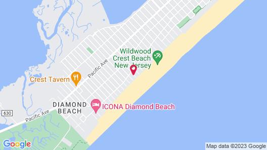 El Coronado Resort Map